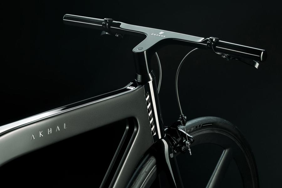 Akhal Shadow Bike handle