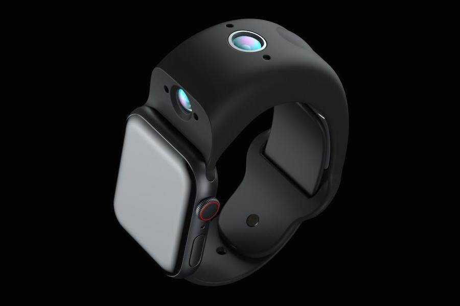 Apple Watch Wrist Cam side