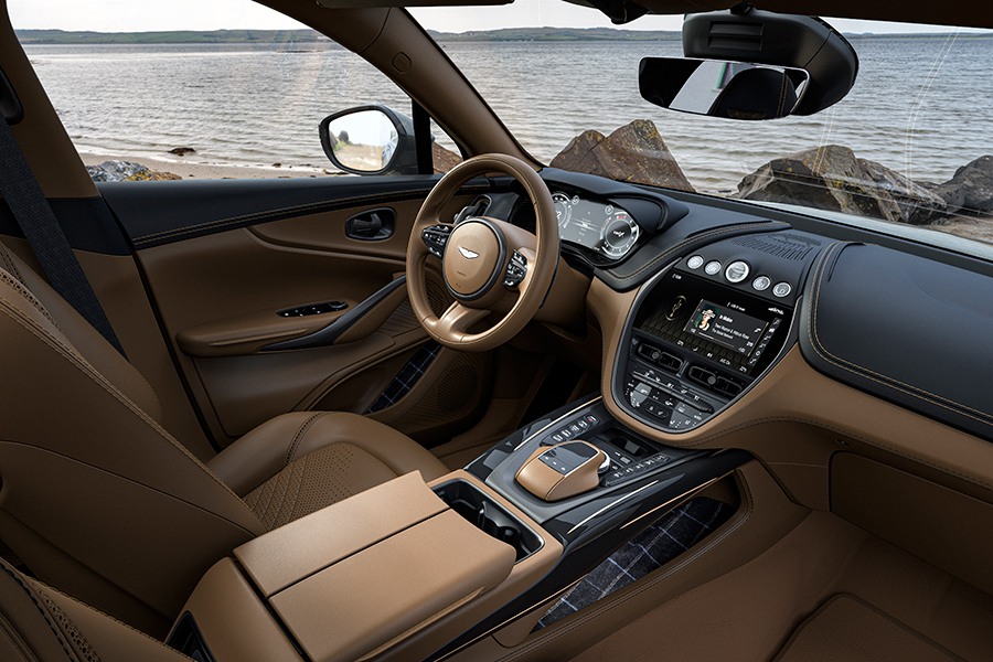 Aston Martin Bowmore dashboard