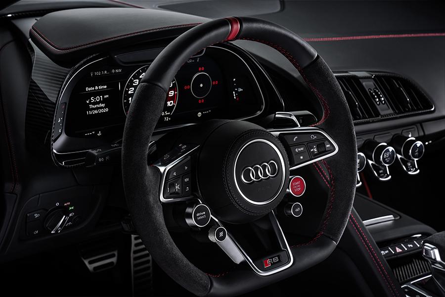 Audi R8 Panther dashboard
