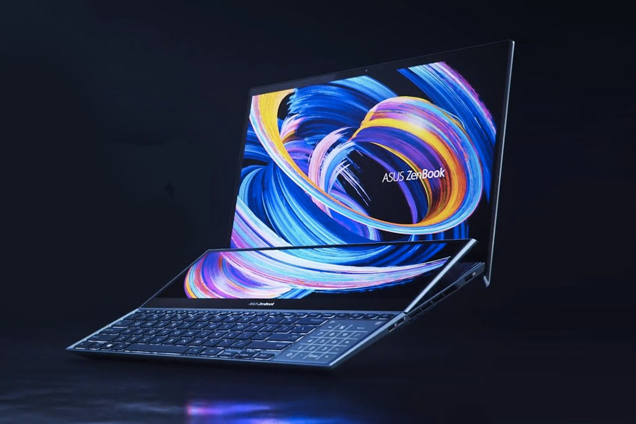 CES 2021 - ASUS ZenBook Duo 15 OLED