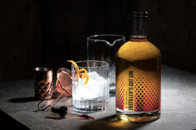 Craft and Co Gingerbread Gin with glass