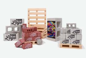 Custom Printed Ultimate Bricks from Mini Materials complete set
