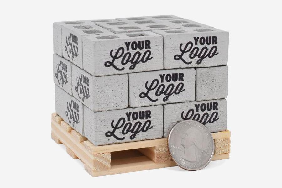 Custom Printed Ultimate Bricks from Mini Materials blocks