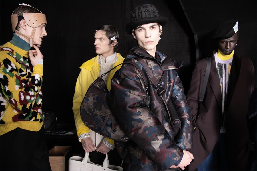 Мужская коллекция Dior «Зима 2021» — искусство, маскирующееся под моду |  Человек многих