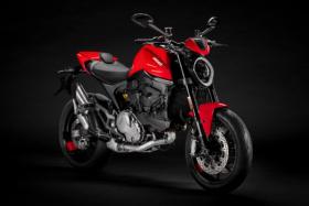Ducati Monster front side