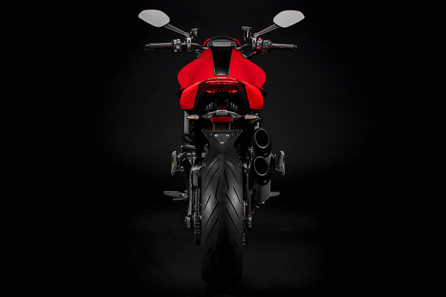 Ducati Monster back