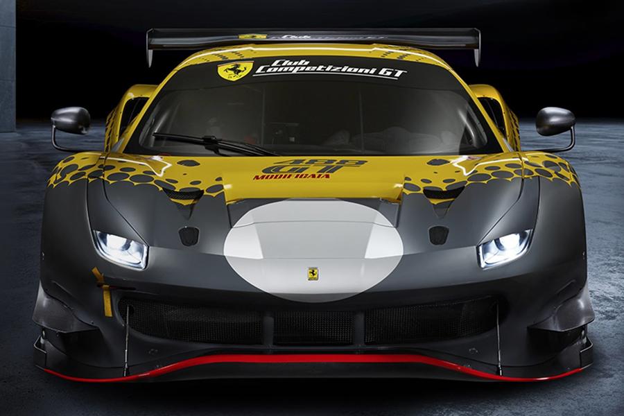 Ferrari 488 GT Modificata front