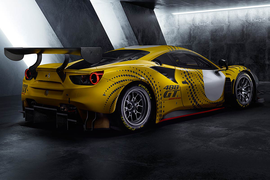Ferrari 488 GT Modificata back