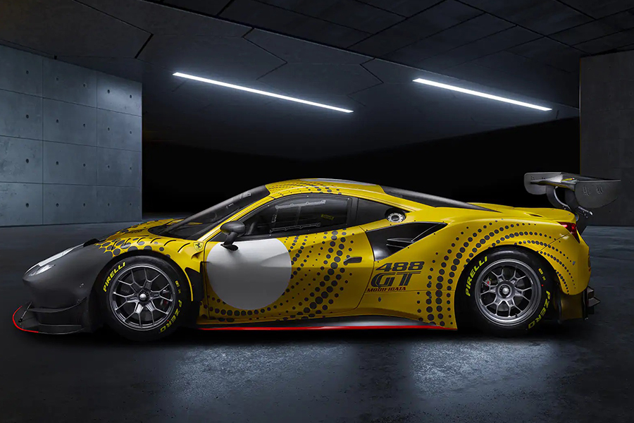Ferrari 488 GT Modificata vehicle