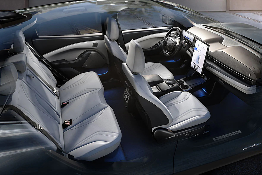 Ford Mach E Mustang car seat