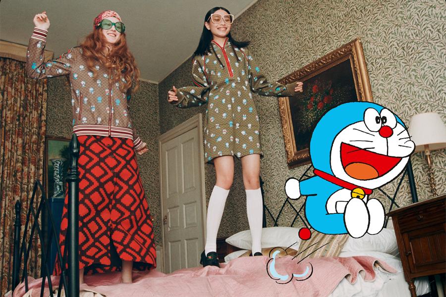 Gucci x Doraemon 12