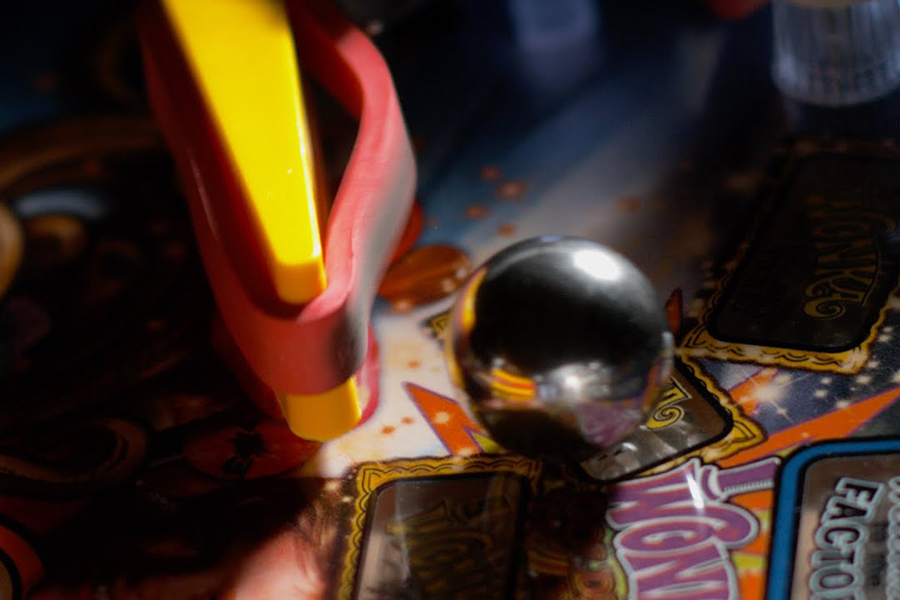 How a Pinball Machine works in Slow Motion