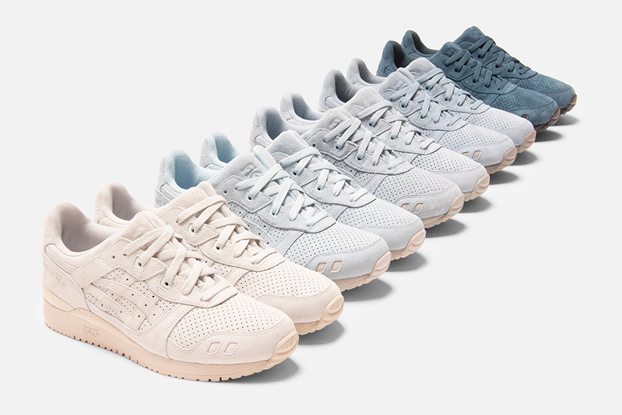 Kith x Asics Pallette shoes collection