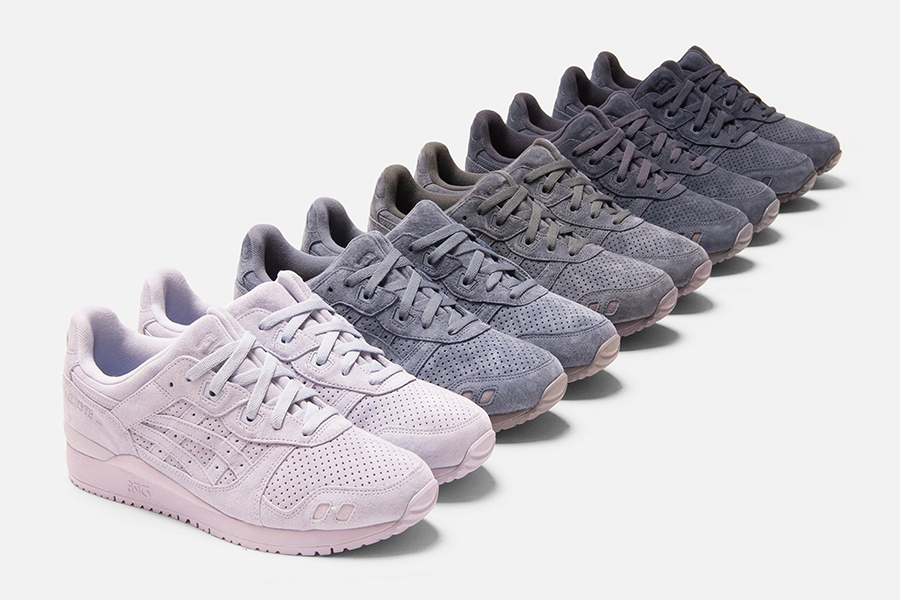 Kith x Asics Pallette collection