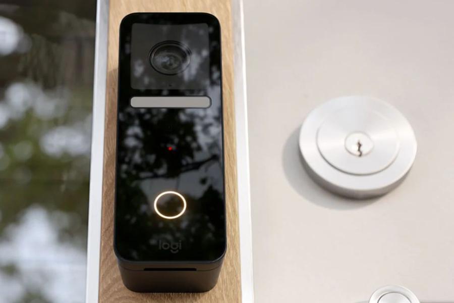 Logitech Circle View Doorbell lock