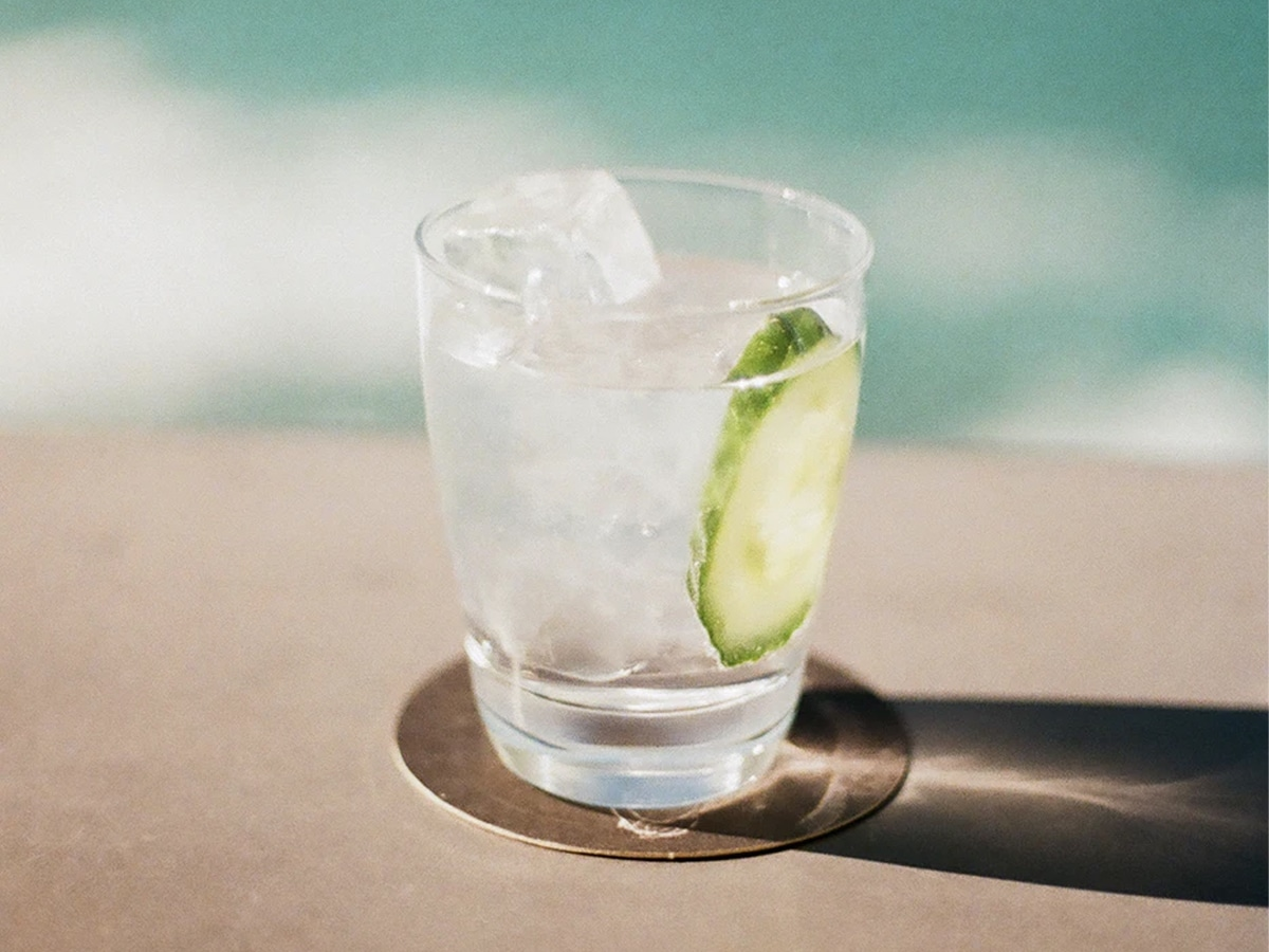 Lowest calorie alcohol gin