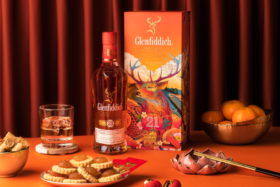 Personalised Glenfiddich Scotch Whisky