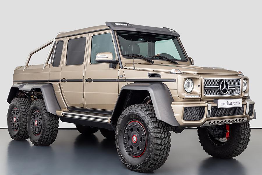 Mercedes-Benz G63 AMG 6X6 за 1,6 миллиона долларов создан для войны |  Человек многих