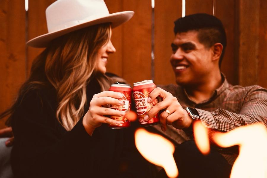 'Merican Mule выпускает консервированный коктейль Fire Mule к зимнему сезону |  Человек многих