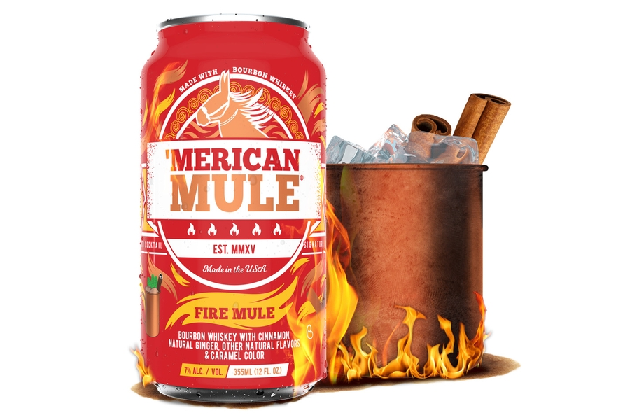 Merican Mule Fire Canned Cocktail