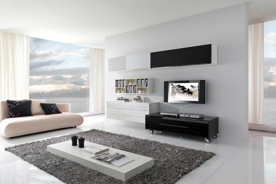 Modern Minimalist Living Room Idea