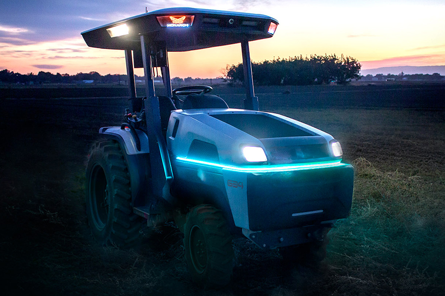Monarch Electric Tractor lights