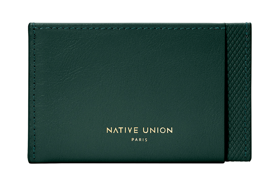Native Union Heritage Collection card holder front