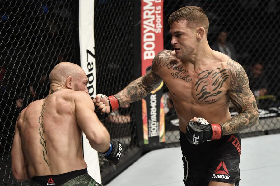 Посмотрите, как Дастин Порье нокаутирует Конора МакГрегора на турнире UFC 257 |  Человек многих