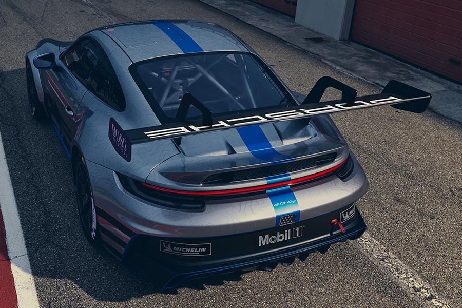 Porsche 911 GT3 Cup rear