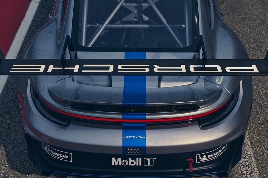 Porsche 911 GT3 Cup back