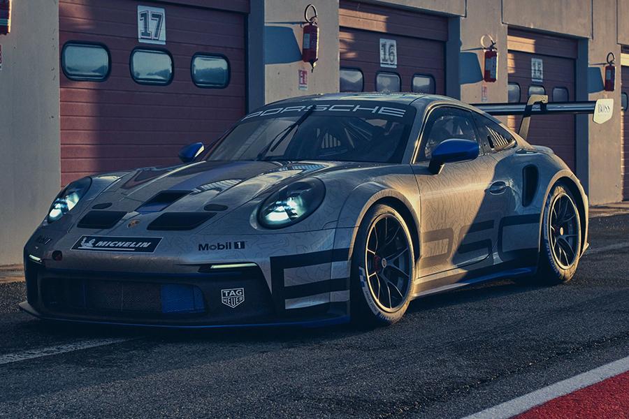 Porsche 911 GT3 Cup front view