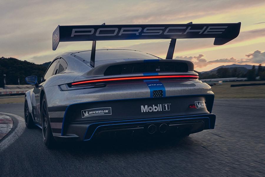 Porsche 911 GT3 Cup rear view