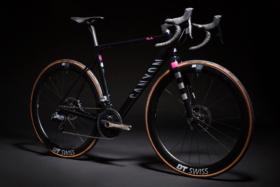 Rapha x Canyon bicycle front side