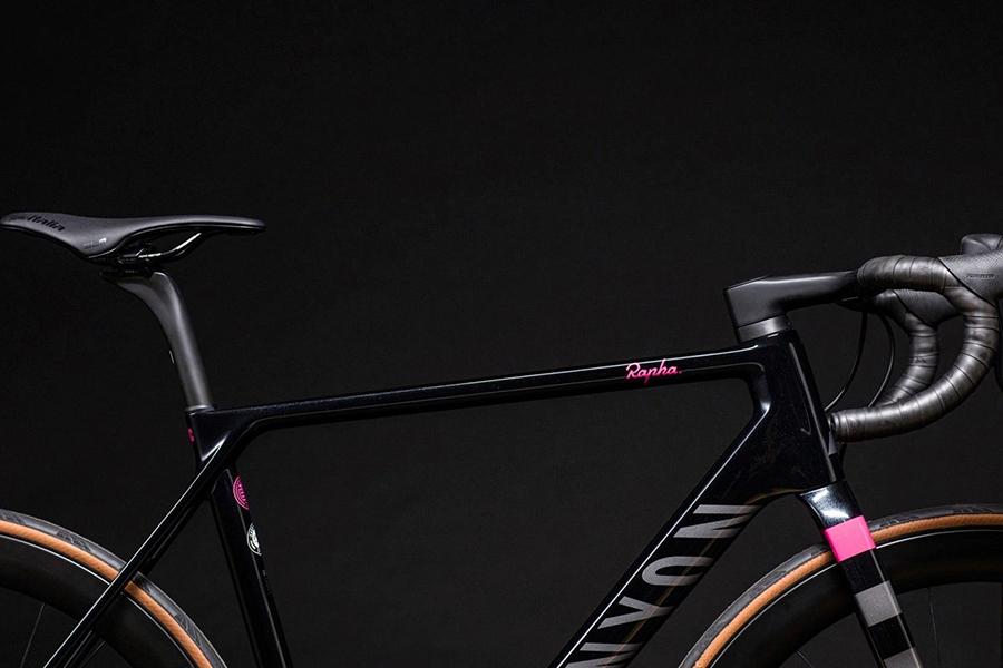 Rapha x Canyon bicycle body