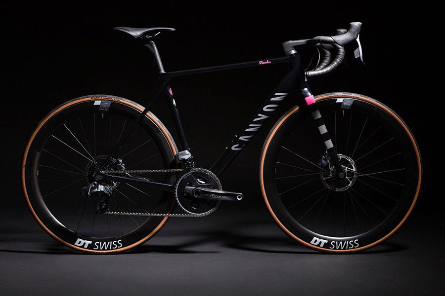 Rapha x Canyon bicycle side