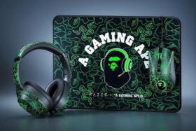 Razer x Bathing Ape mousepad