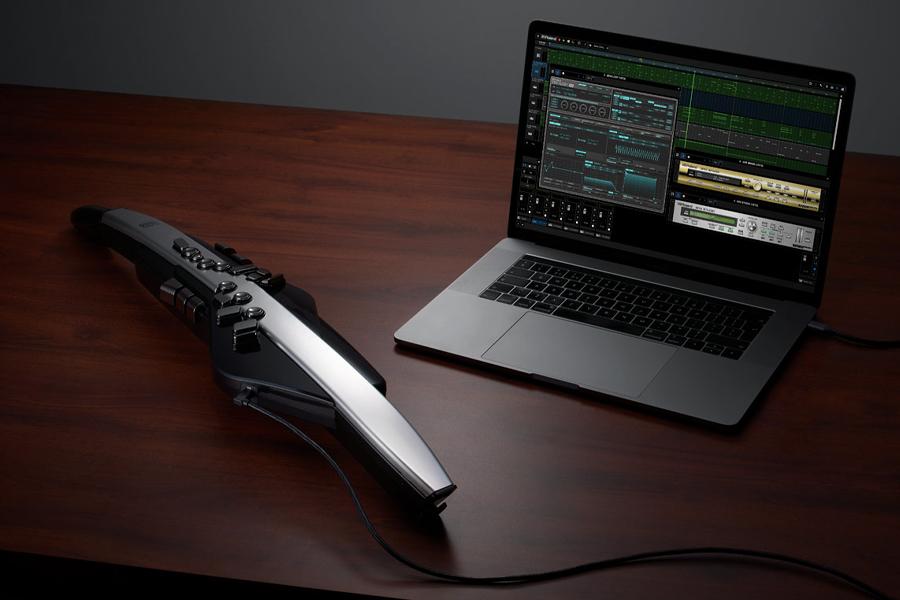 Roland Digital Aerophone Pro имеет 300 звуковых пресетов и 10 встроенных ударных    Человек многих