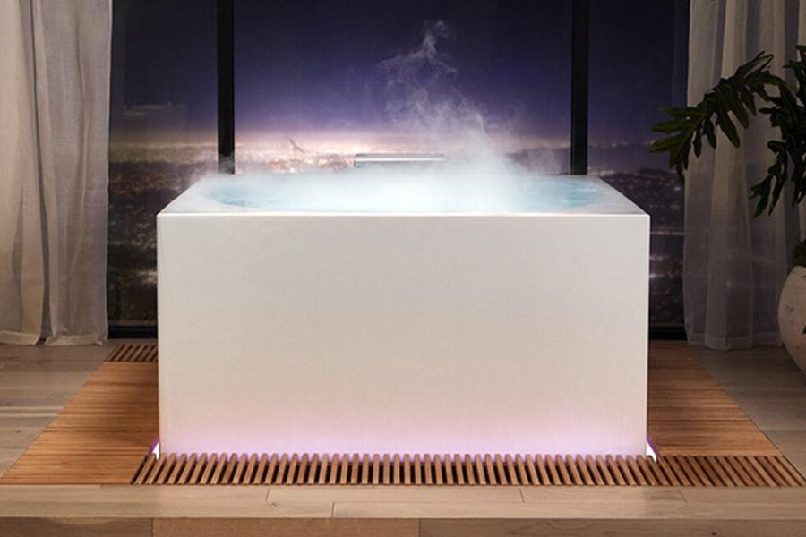 Smart Bathtub led