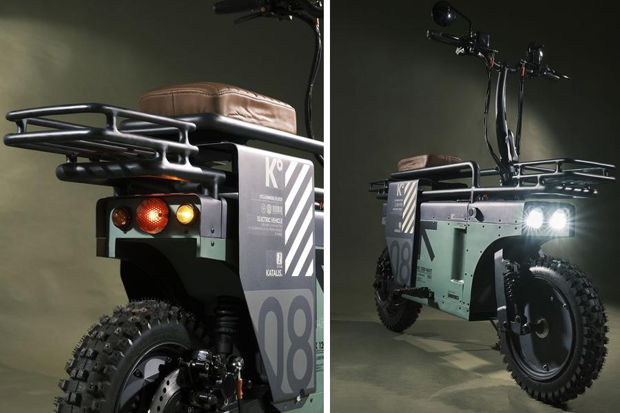 Spacebar Scooter concept sides