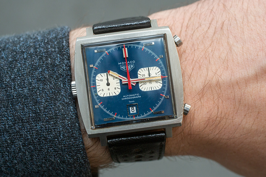 Steve McQueens Le Mans sells wrist