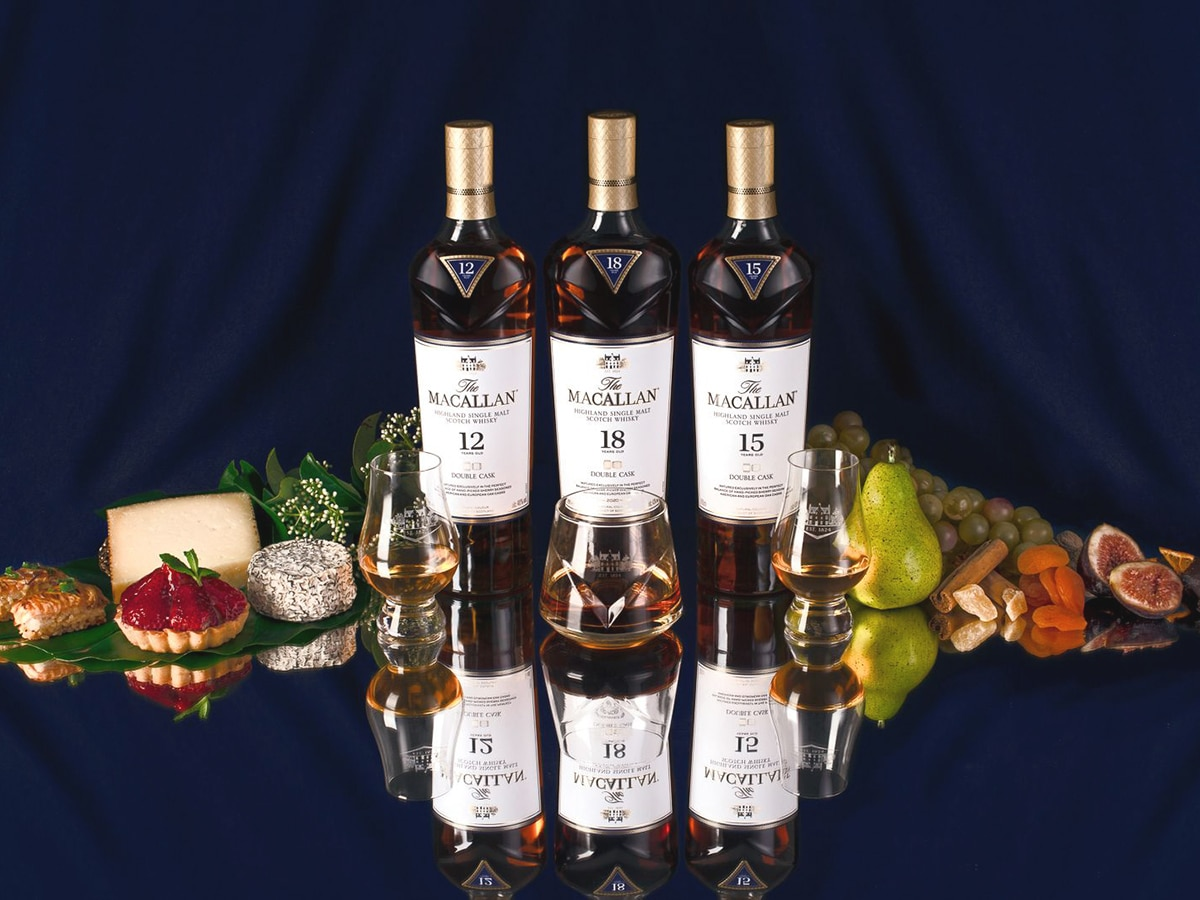 The macallan is hosting a ritzy 6 course whisky paired feast in sydney
