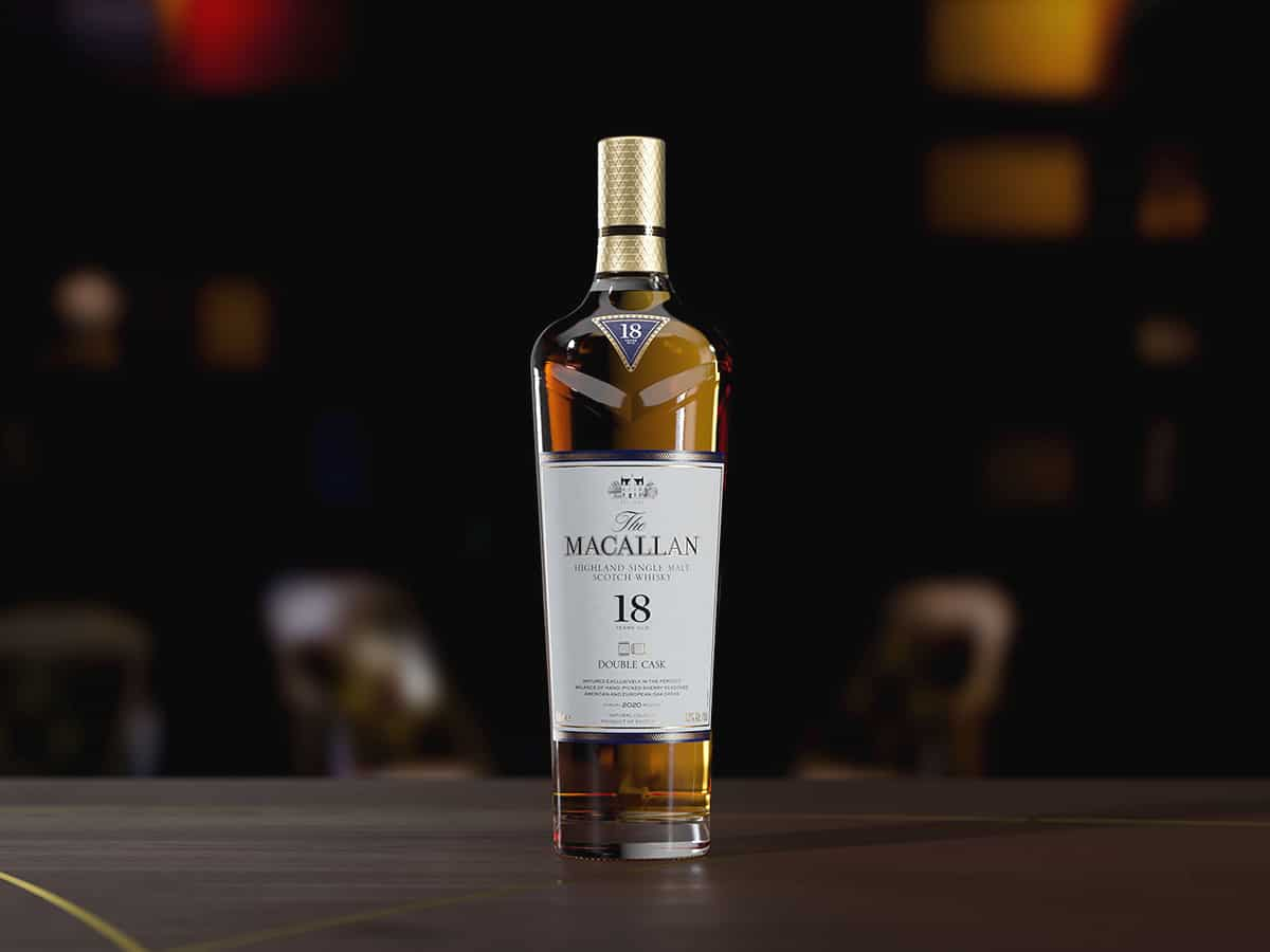 the macallan double cask 18 years old