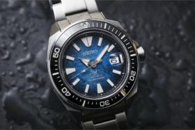 "SeikoKing Samurai ""Save the Ocean"""