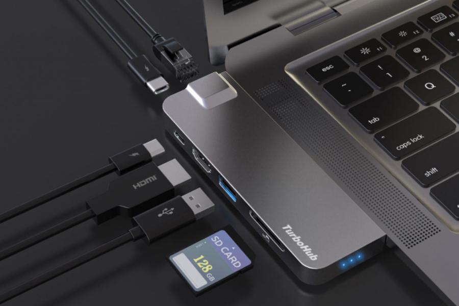 TurboHub представляет «самый быстрый в мире» твердотельный накопитель и концентратор USB-C «6 в 1» |  Человек многих