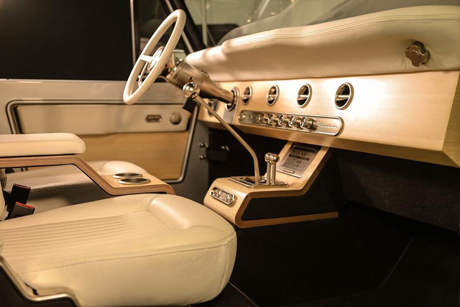 Zero Labs Classic Vehicle Electric Car dashboard