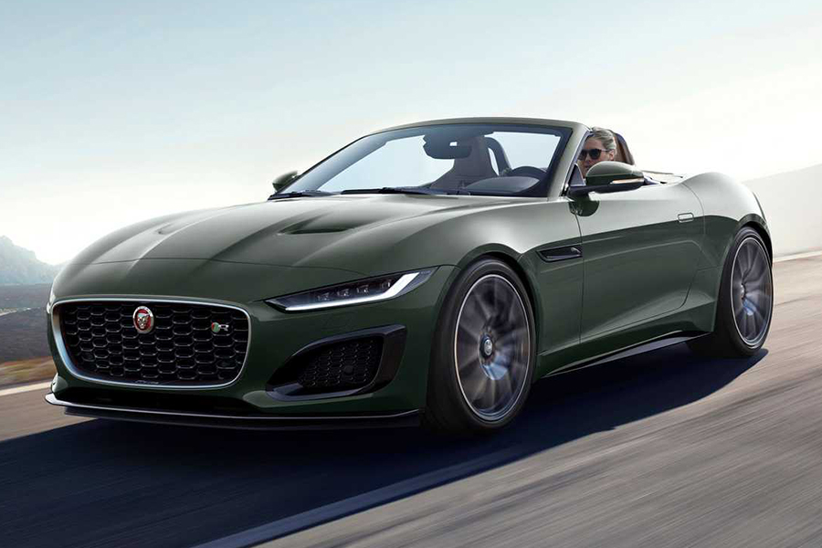 jaguar F type heritage edition convertible