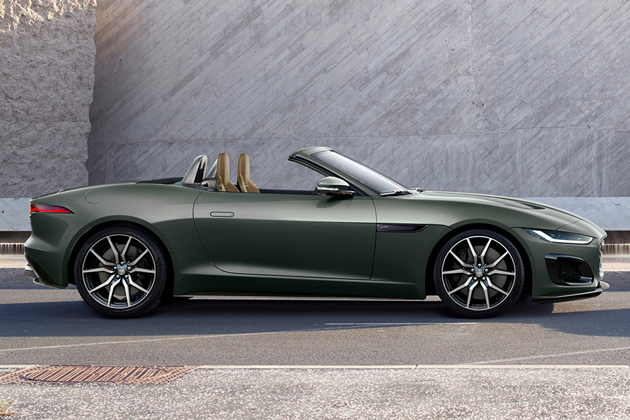 jaguar F type heritage edition right side