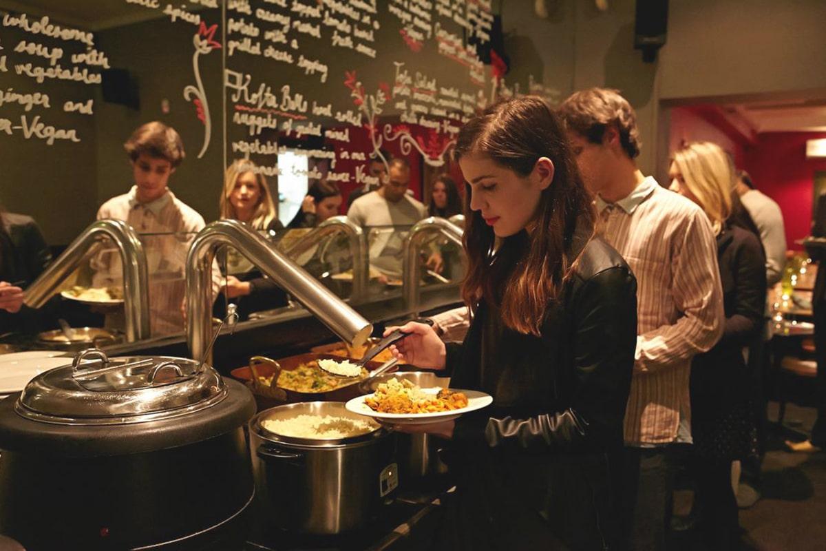 Best All You Can Eat Restaurants in Sydney Govindas Cinema and Restaurant
