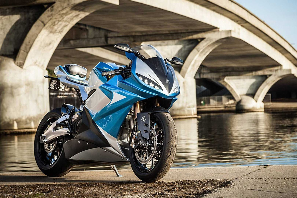 Fastest Motorcycles in the World You Can Actually Buy Lightning LS-218